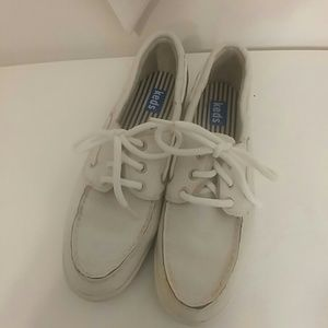 Keds leather loafers